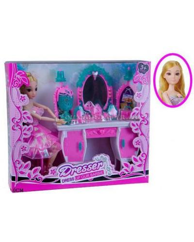 """Кукла на шарнирах типа""""Барби"""" с аксессуарами, арт. 1303А"""