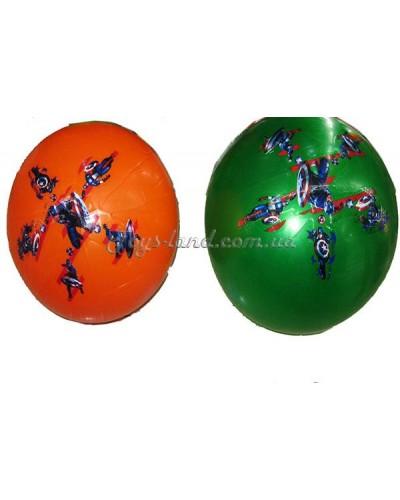 Мяч резиновый  2 вида, 40см, 180г, арт. 13034