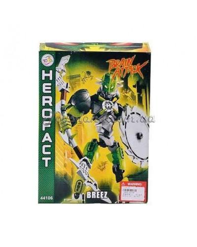 """Конструктор HERO FACTORY 44106 (T4802)  """"Бриз"""", в собр.коробке 26*19*4,5см"""