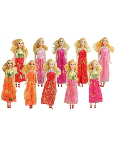 """Кукла типа """"Барби"""" 0511-1/2/4/5/7/10/13 (511-1/2/5/9/10/11) 10видов, в пакете 28см"""