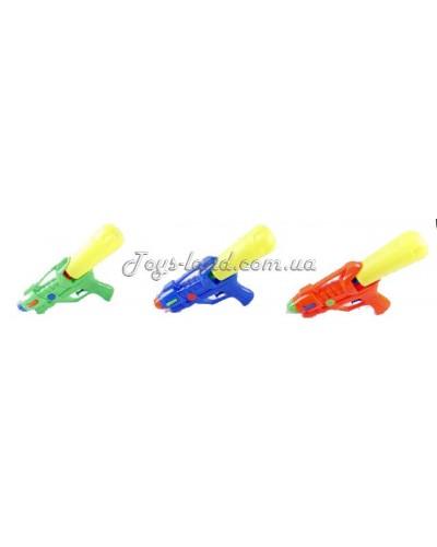 Водный пистолет 3788 (1445182)  3 цвета, в пакете 25,5*5*13см