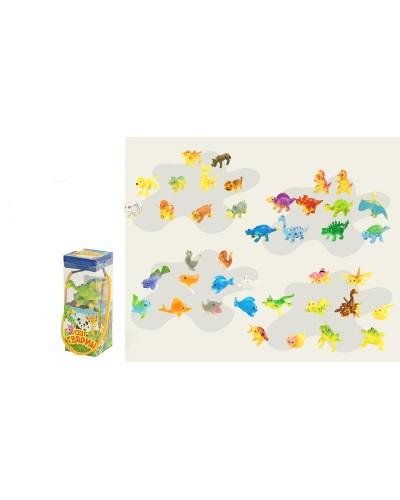 Набор животных ассорти (колба/ 13х5х5 см), арт. 3015