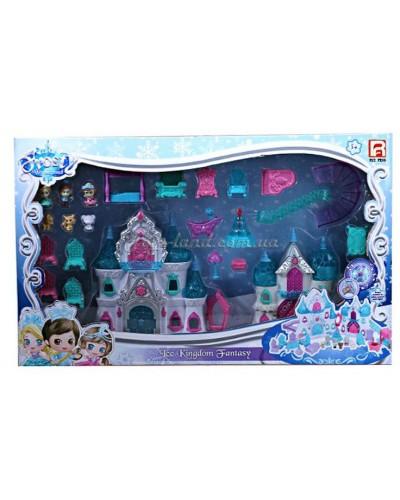 """Замок светящийся с аксессуарами """"Frozen Palace"""" (на батар.), арт. 1206"""