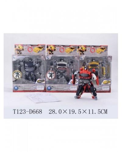 Трансформер 10703(01/01A/03/03A) (T123-D668) (24шт/4) металл, в кор. 19*11*28см