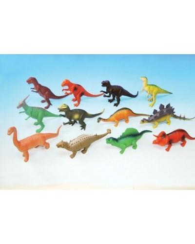"""Динозавр Гонконг H386W резин. 10-13"""" 12в.12шт.в кор.29,9*27,3*10,2"""