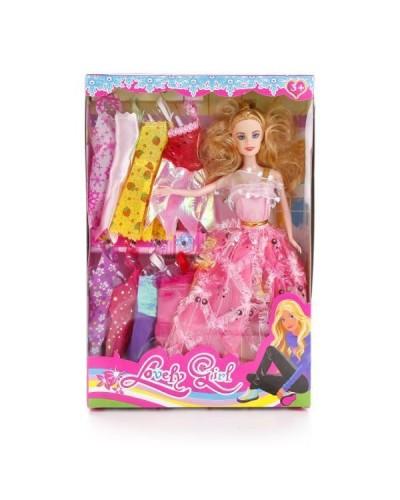 Кукла 30см 3615B-2 с нарядами кор.33*5*22