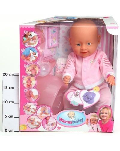 Кукла-пупс 8004-421A интер-ный с аксес.можно купать, плачет 9ф-ций, горшок распак.кор.33*18*38