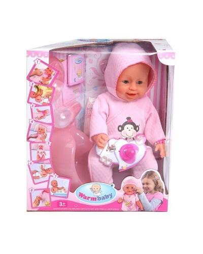Кукла-пупс 8006-420A интер-ный с аксес. можно купать, плачет 9ф-ций, горшок распак.кор.33*18*38
