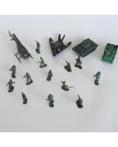 """Военный набор PLAY SMART 3036 """"Оружие к бою"""" кул.25см"""