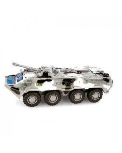 "Модель танк PLAY SMART 9629C ""Автопарк"" инерц. муз.свет кор.28*12*11,5 M1:35"