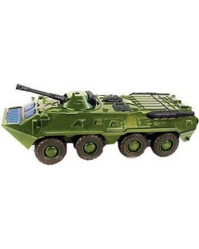 "Модель танк PLAY SMART 9629A ""Автопарк"" инерц. муз. свет кор.28*12*11,5 M1:35"