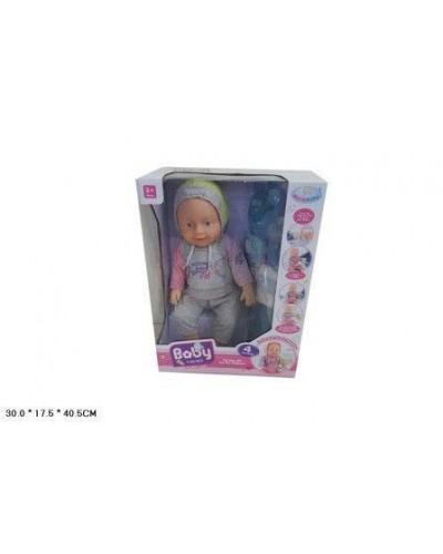 Кукла-пупс WZJ011-445B интер-ный с аксес.муз.горшок спак.кор.30*17,5*40,5