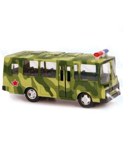 """Автобус PLAY SMART 9714C """"Автопарк"""" ПАЗ инерц. откр.дв. муз.свет. кор.21,5*10,5*11,6"""