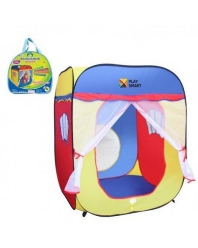 """Палатка PLAY SMART 3003 """"Волшебный домик"""" в сумке 88*87*108"""
