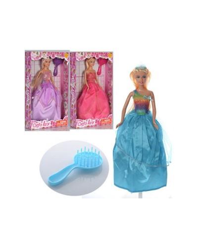Кукла DEFA 29см 8291 принцесса 3в. кор. 32*5,5*18,5