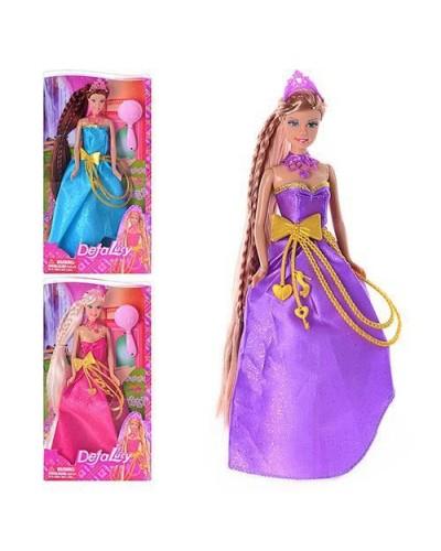 Кукла DEFA 29см 8195 принцесса с аксес.3в.кор. 32*5,5*18,5