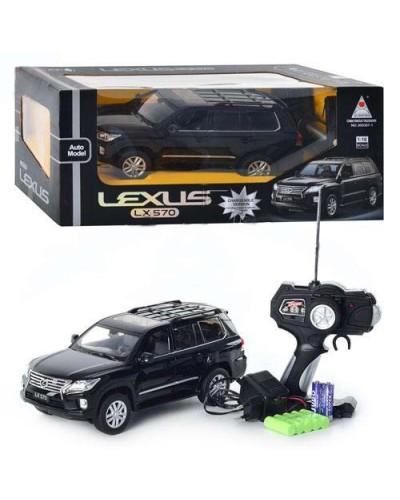 Машина аккум. р/у 300307-1 LEXUS LX570, в коробке 45*21*19см