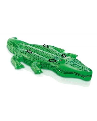 """Надувн. """"Крокодил"""" 58562  винил,с ручками(3+ лет) Intex"""