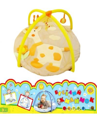Коврик с погрем. FM6178 жираф сумка /18/