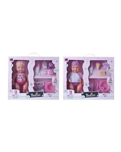 Кукла-пупс Baellar 10799 интерактивный с аксес. горшок 2в. кор.43,5*12*36