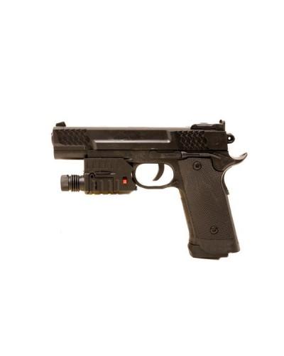 Пистолет HY.716-1 с пульками, свет. лазер. кор. H6AZ044
