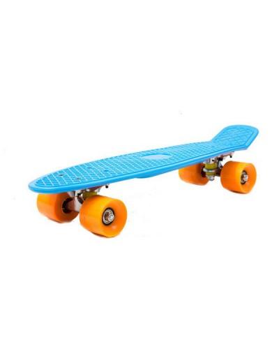 Скейт BT-YSB-0045 пластик.PVC колеса 56*14см 4цв