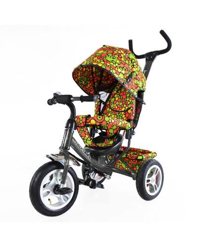 Велосипед трехколесный TILLY Trike T-351-4 ГРАФИТОВЫЙ с большими надувными колесами