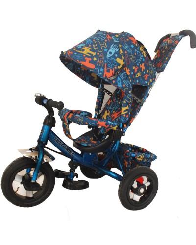 Велосипед трехколесный TILLY Trike T-363-3 СИНИЙ
