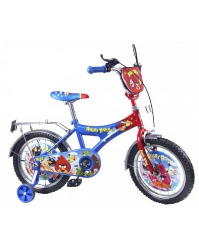 Велосипед 2-х колес 20' 142006 со звонком, зеркалом, с вставками в колесах