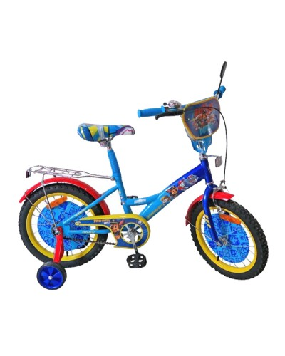 Велосипед 2-х колес 16' 171625 со звонком, зеркалом, руч.тормоз