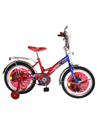 """Велосипед Спайдермен 18"""" BT-CB-0009 красный с синим, система: """"One piece crank"""""""