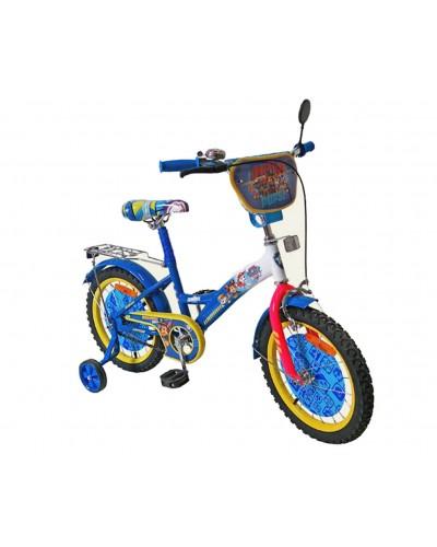 Велосипед 2-х колес 16' 171626  со звонком, зеркалом, руч.тормоз