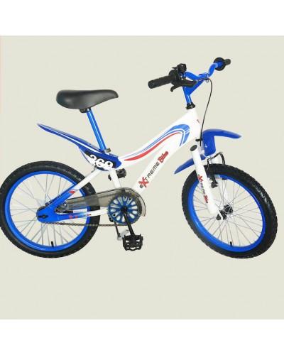 "Велосипед 2-х колес 18'' 141801-B  с подножкой, пласт.крылом, каретка ""Американка"""