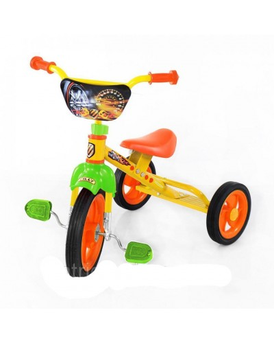Велосипед TILLY COMBI TRIKE BT-CT-0009 YELLOW