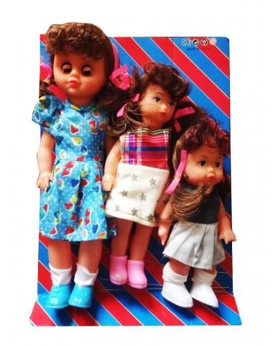 """Кукла """"Моя малышка"""" 30см, 22см, 18см 197BV по 3шт.3в.кул.21*30"""