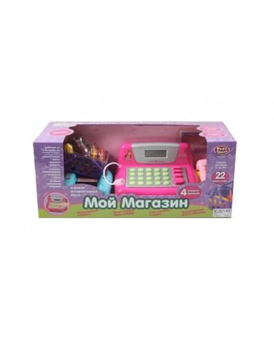 "Кассовый аппарат PLAY SMART 7017 ""Мой магазин"" батар., муз.кор.44*18*18 /12/"