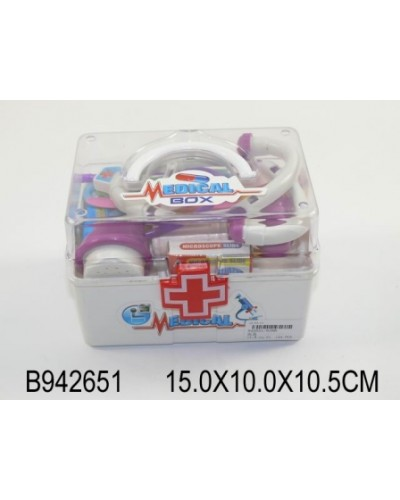 Доктор 6388/942651 чемодан 15*10*10,5 /144/