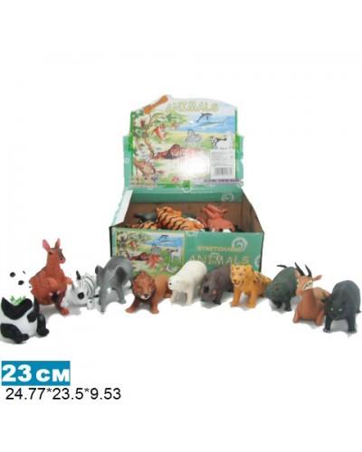 Дикие животные Гонконг A011/36P  12в.  24шт.в кор.24,8*23,5*9,5