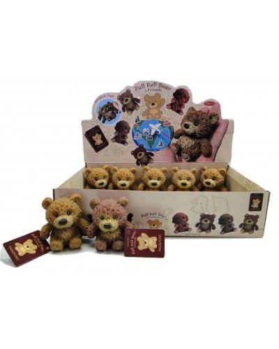 Медведь Гонконг A185-DB   2цв. 24шт.в кор.32,4*7,6*19,7