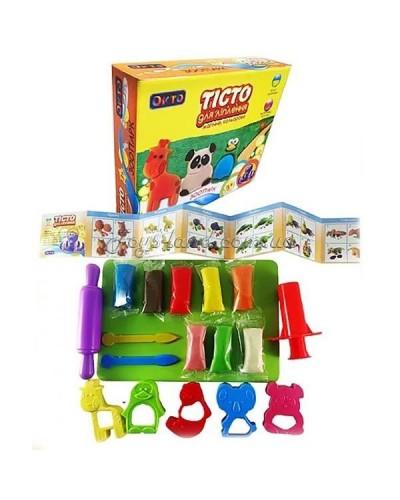 Набор для лепки ОКТО Зоопарк (в коробке)