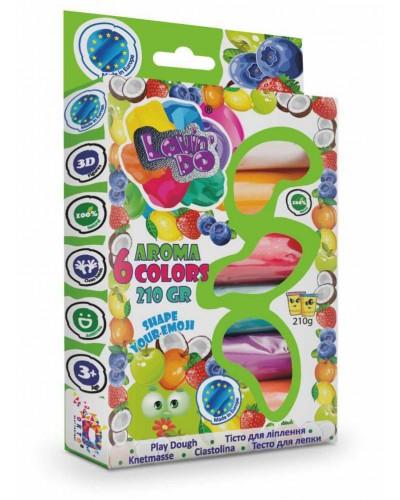 Набір тіста для ліплення LOVIN'DO AROMA 6 кольорів