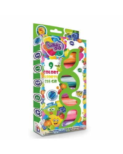Набір тіста для ліплення LOVIN'DO AROMA 9 кольорів