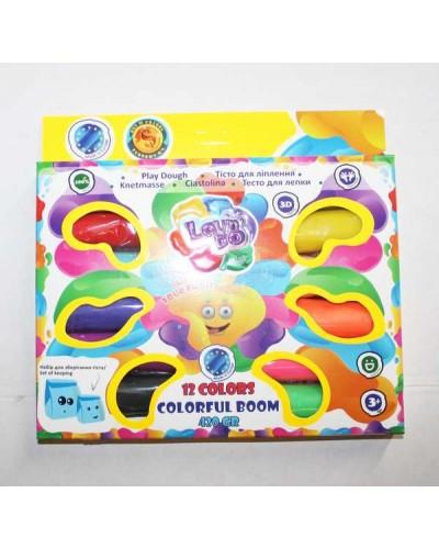 Набір тіста для ліплення LOVIN'DO Асорті 12 кольорів