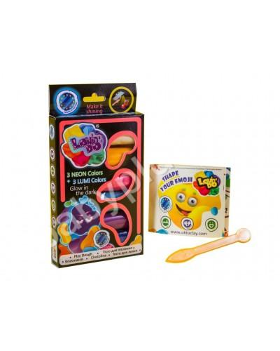 Набір тіста для ліплення ТМ LOVIN'DO 6 кольорів LUMI