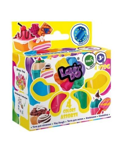 Набір тіста для ліплення ТМ Lovin'Do Асорті 4 кольори