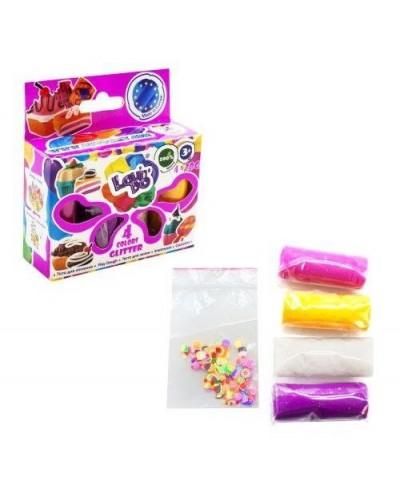 Набір тіста для ліплення ТМ Lovin'Do Асорті 4 кольори Неон