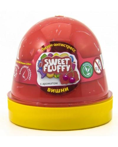 Лизун-антистрес TM Mr.Boo Sweet fluffy Вишня 120мл