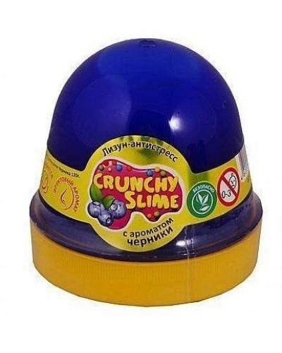 Лизун-антистрес TM Mr.Boo Crunchy slime Чорниця 120г.