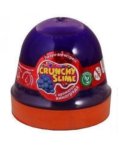 Лизун-антистрес TM Mr.Boo Crunchy slime Виноград 120г.