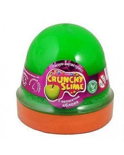 Лизун-антистрес TM Mr.Boo Crunchy slime Яблуко 120г.